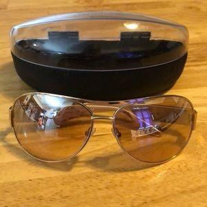 Women's Armani Exchange Gold Rim Sunglasses
